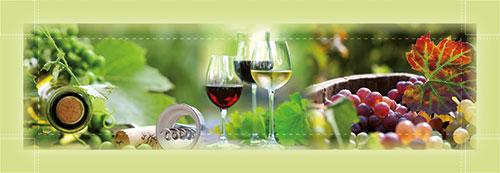 Wein-Motiv 001 | Impressionen-grün