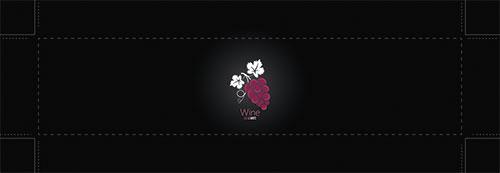 Wein-Motiv 006 | Black Wine